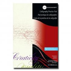 BLOK DO KALIGRAFII MANUSCRIPT CALLIGRAPHY PRACTICE PAD A4 50 ARK.