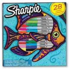 Markery Sharpie 28 Fish ShP-2061125