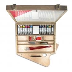 FARBY AKRYLOWE LUKAS CRYL STUDIO ELMWOOD BOX 10 X 75ML 61130000
