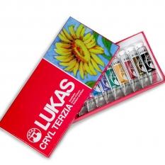 Farby Akrylowe Lukas Cryl Terzia Set 12 X 12 Ml 61030000