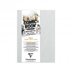 Papier Do Markerów Clairefontaine Comic Book Layout Double Face 220 Gsm 13 X 18 Cm 975196c