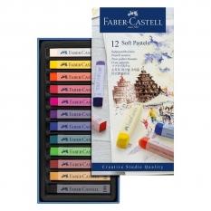 PASTELE SUCHE FABER-CASTELL CREATIVE STUDIO 12 128312