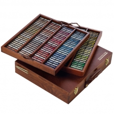 PASTELE SENNELIER A L`ECU 175 THE TRADITIONAL COLLECTION WOODEN CASE N132142