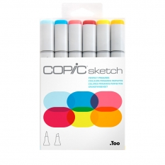 MARKERY COPIC SKETCH 6 PERFECT PRIMARIES 21075661