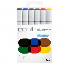 MARKERY COPIC SKETCH 6 BOLD PRIMARIES 21075662