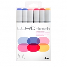 MARKERY COPIC SKETCH 6 FLORAL FAVORITES 2 21075669