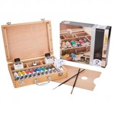 Farby Olejne Talens Van Gogh Oil Colour Basic Box 02840510