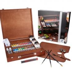 Farby Olejne Talens Van Gogh Oil Colour Expert Box 26 02843426