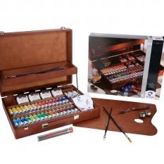 Farby Olejne Talens Van Gogh Oil Colour Superior Box 65 02843425