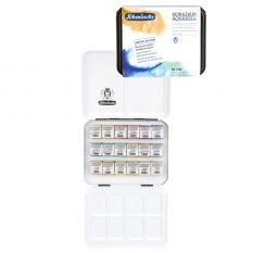 Farby Akwarelowe Schmincke Horadam Pearl Metallics Limited Edition 18 Półkostek 74778