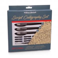 ZESTAW DO KALIGRAFII WILLIAM MITCHELL SCRIPT CALLIGRAPHY SET STRAIGHT 35909
