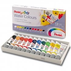Farby Akwarelowe Pentel Water Colours 12 X 5 Ml WfrS-12