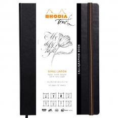 Szkicownik Do Kaligrafii Rhodia Touch Calligrapher Book 250 Gsm A4 Portrait 116125c