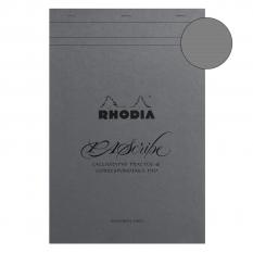Blok Do Kaligrafii Rhodia Pascribe Calligraphy Practice Pad Maya A4+ 21 X 31,8 Cm 19006c