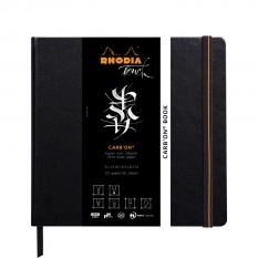 Szkicownik Rhodia Touch Carb`on Book 120 Gsm 21 X 21 Cm 116117c