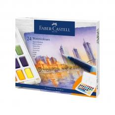 Farby Akwarelowe Faber Castell Creative Studio 24 Watercolours 169724