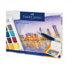 Farby Akwarelowe Faber Castell Creative Studio 36 Watercolours 169736