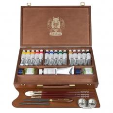Farby Olejne Schmincke Mussini Large Wooden Box Set 70615097