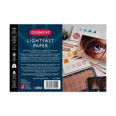 Blok Derwent Lightfast Paper 300 Gsm 100% Cotton Hot Pressed 25,4 X 17,8 Cm 20 Ark 2305831