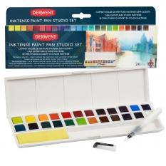 Farby Derwent Inktense Paint Pan 24 Set 2305545