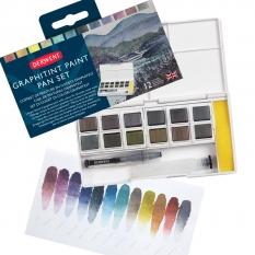 Zestaw Derwent Graphitint Paint Pan 12 Palette 2305790