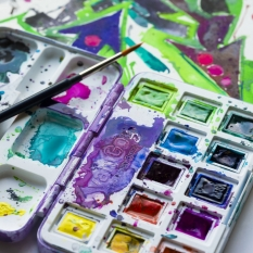 Akwarele Van Gogh 12 Half Pans Vibrant Colours 20808643