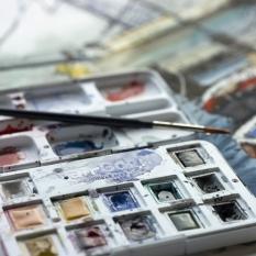 Akwarele Van Gogh 12 Half Pans Muted Colours 20808644