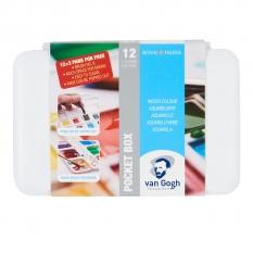 Akwarele Van Gogh 12 Half Pans + 3 Free 20808632