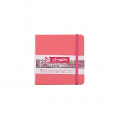 SZKICOWNIK TALENS ART CREATION 140 GSM CORAL RED COVER 12 X 12 CM 9314314M