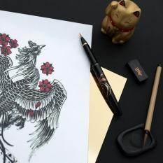 Brush Pen Kuretake Mannen Mouhitsu Maki-e Monogatari Zuichou-Houou DU180-315