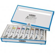 Farby Akrylowe Schmincke Akademie 8 X 20 Ml 76008097