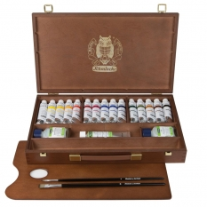 Farby Akrylowe Schmincke Primacryl 15 X 35 Ml Wooden Box 73515097