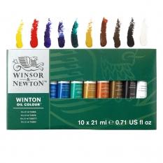 Farby Olejne Winsor Newton Winton Oil Colour 10 X 21 ml 1490618