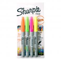 Markery Sharpie Fine Neon 4 Set ShP-1884953
