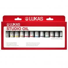 Farby Olejne Lukas Oil Studio 12 x 20 ml 65420000
