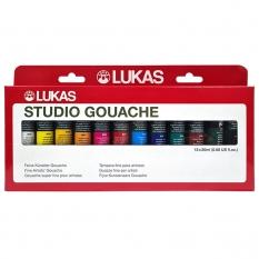 Gwasze Lukas Studio Gouache 12 x 20 ml set 65480000