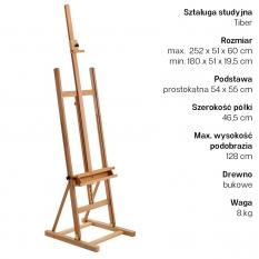 Sztaluga Studyjna Tiber Studio Easel 7006553