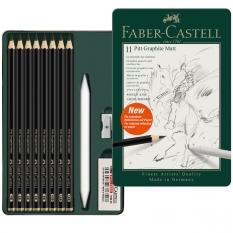 Ołówki Faber Castell Pitt Graphite Matt 11 set 115220