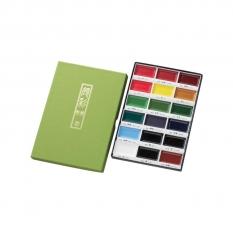 Zestaw Farb Akwarelowych Kuretake Gansai Tambi 18 Kolorów