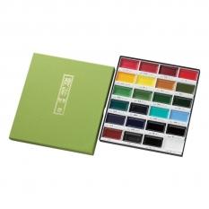 Farby Kuretake Gansai Tambi 24 Colours set