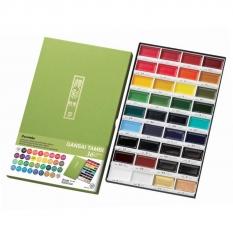 Farby Kuretake Gansai Tambi 36 Colours set