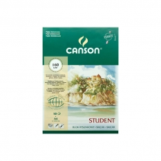 BLOK RYSUNKOWY CANSON STUDENT 160 GSM A4 21 X 29,7 CM 50 ARK. 400014235