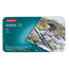KOMPLET 72 KREDEK ARTISTS DERWENT 32097