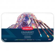 Kredki Derwent Coloursoft 72 0701029