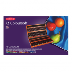 KREDKI DERWENT COLOURSOFT 72 WOODEN BOX 0701031