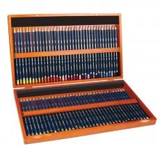 Kredki Akwarelowe Derwent Watercolour 72 Wooden Box 32891
