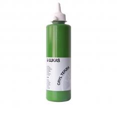 FARBA AKRYLOWA LUKAS TERZIA 500 ML SAP GREEN 4965 LUKAS