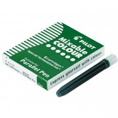 Wkłady do Pióra Pilot Parallel Pen 6 szt. Zielony IC-P3-S6-G