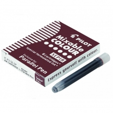 Wkłady do Pióra Pilot Parallel Pen 6 szt. Sepia IC-P3-S6-SP