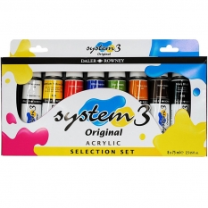 FARBY AKRYLOWE DALER-ROWNEY SYSTEM 3 SELECTION 8 X 75 ML 129100025